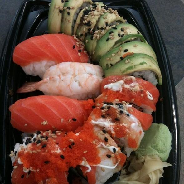Cali-Shogun Combo @ Sushi By Bento Nouveau