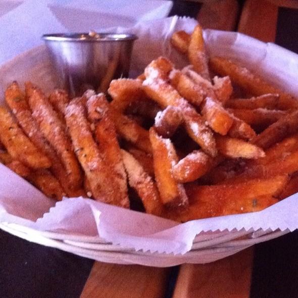 Seasoned fries @ Bon Chon Chicken