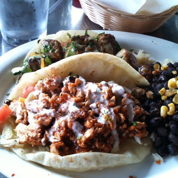BBQ Mahi Tacos