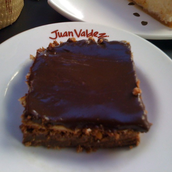 Brownie @ Juan Valdéz