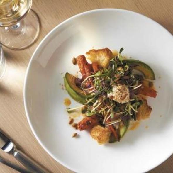 Roast Carrot and Avocado Salad @ Pump Room