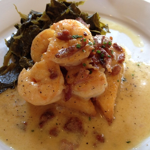 Shrimp and Grits - The Olde Pink House Restaurant, Savannah, GA