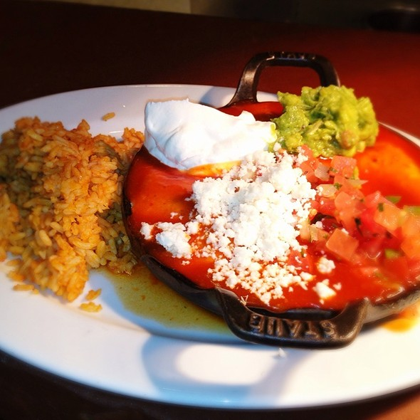 Vegetable Enchiladas @ Signature Grill at the JW Marriott Starr Pass Resort & Spa
