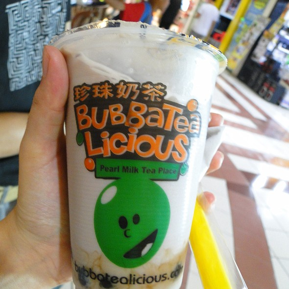 Taro Milk Tea @ Bubba Tealicious