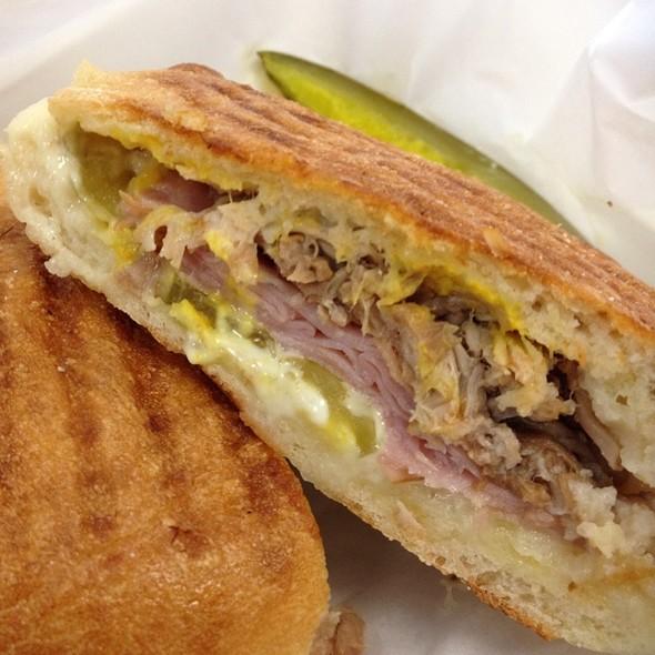 Cuban Sandwich @ Poppy's Coffee and Espresso Bar