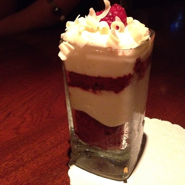 Mini Red Velvet Cake - Seasons 52 - Coral Gables, Coral Gables, FL