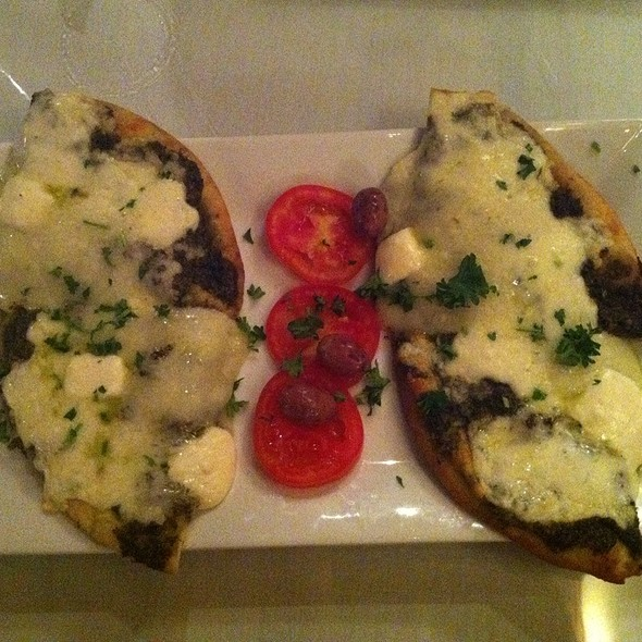 Manaheesh Cheese @ Mezza Lebanese Bistro and Hookah Lounge