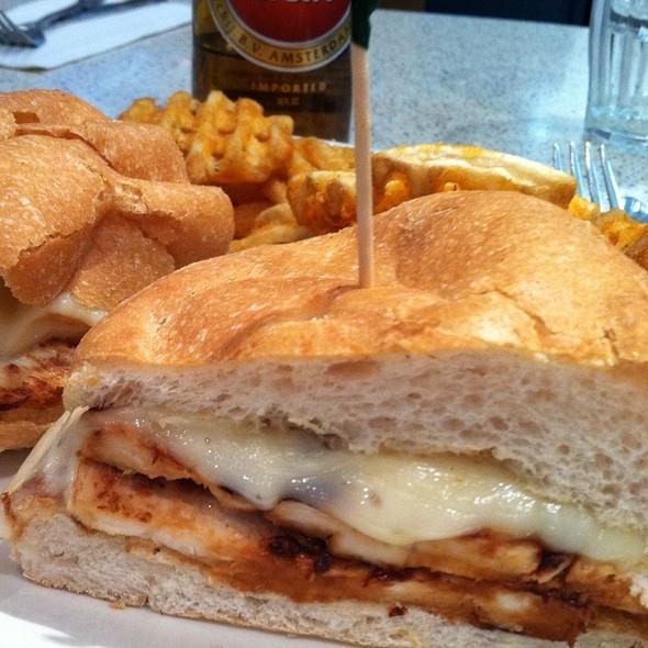 Grilled Chicken & Pesto Sandwich @ Tick Tock Diner
