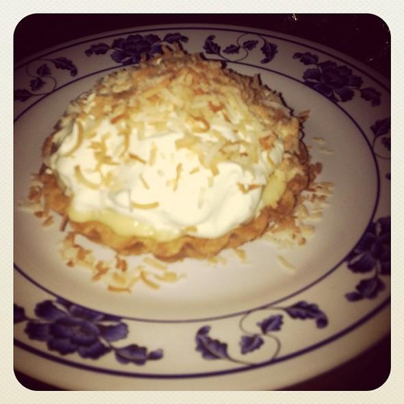 Coconut Cream Pie @ Myers+Chang