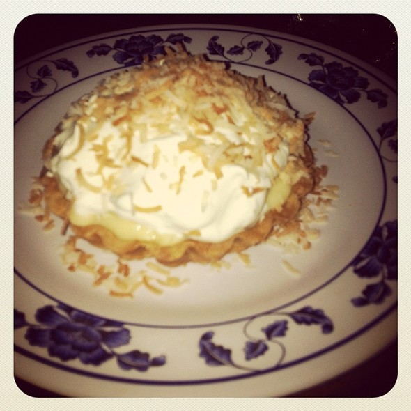 Coconut Cream Pie @ Myers+Chang