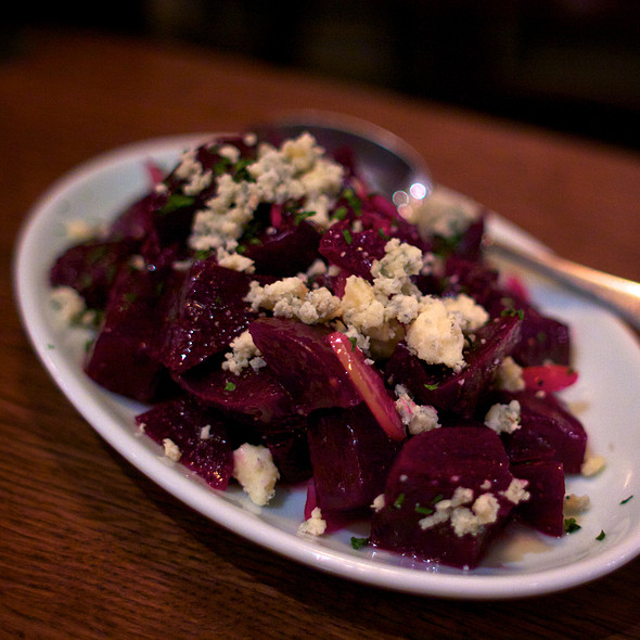 Roasted Beets - Brindle Room, New York, NY