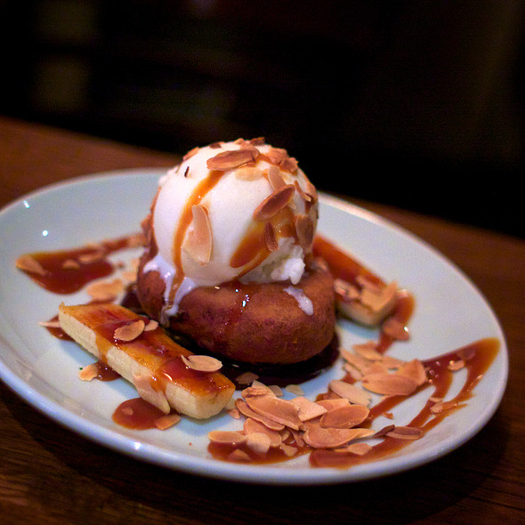 Mashed Potato Doughnut Sundae - Brindle Room, New York, NY