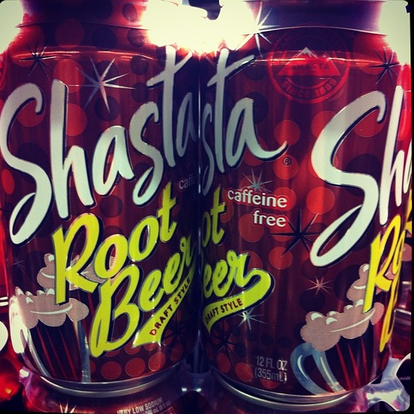 Shasta Root Beer @ California