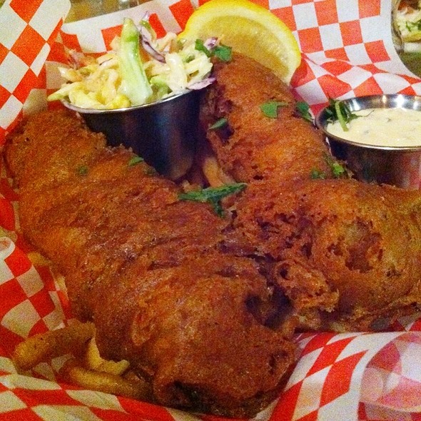 Fish and Chips @ Woodhouse Fish Company