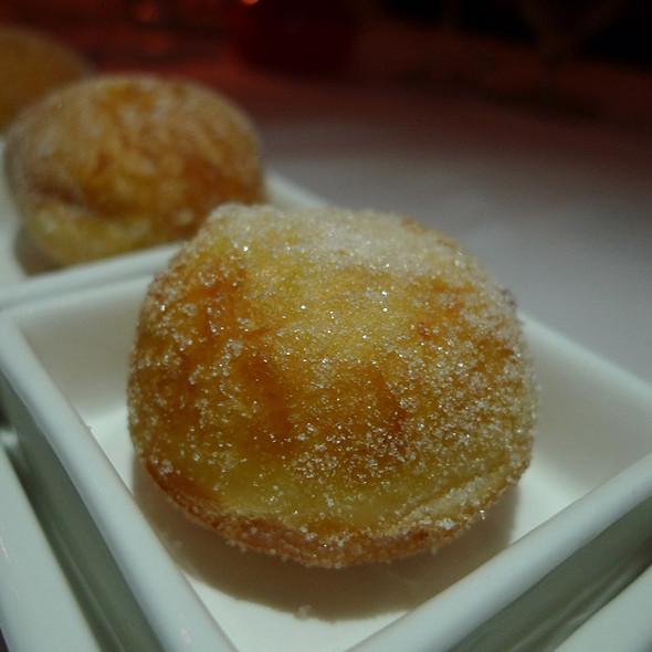 Lilikoi Malasada @ Chef Mavro restaurant