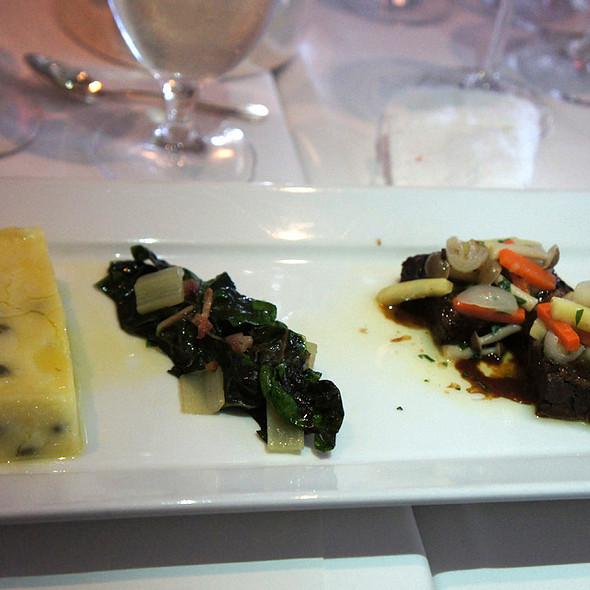 Deconstructed Boeuf Bourgignone @ Chef Mavro restaurant