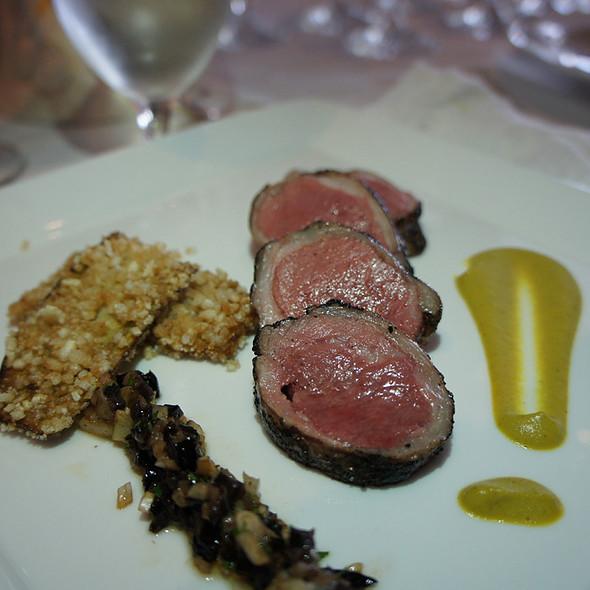 Colorado Lamb - Chef Mavro, Honolulu, HI