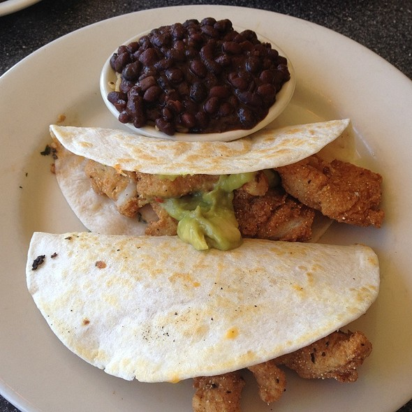Fish Taco @ Thumbs Up Diner