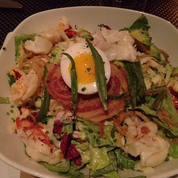Lobster Salad W/ Avocado, Citrus, Shaved Fennel W/ Meyer Lemon-tarragon Vinaigrette @ Blt Prime