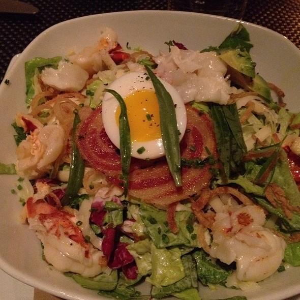 Lobster Salad W/ Avocado, Citrus, Shaved Fennel W/ Meyer Lemon-tarragon Vinaigrette @ Blt Prime