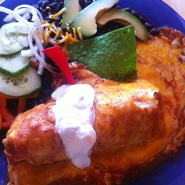 Steak Ranchero Burrito @ La Taqueria Mexicaine