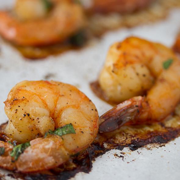 Baked Honey Shrimp @ The Joy Kitchen