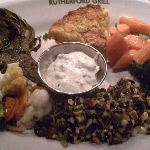 Seasonal Vegetable Plate @ Rutherford Grill