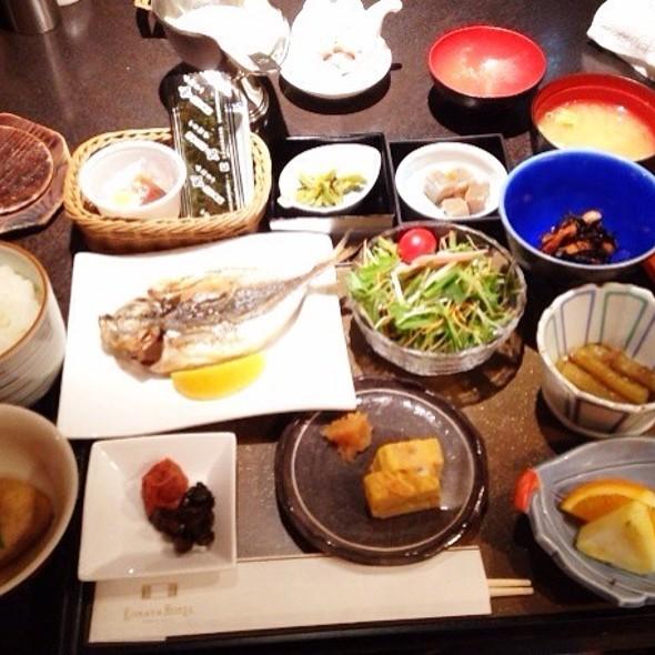 Japanese Breakfast Platter @ Urban Villa Konaya Hotel
