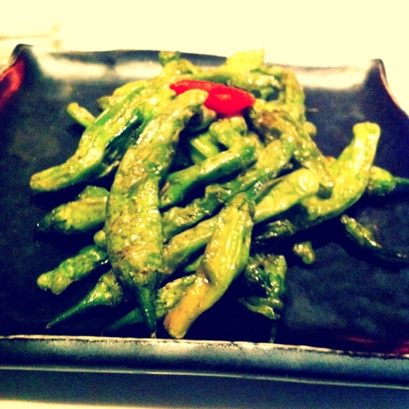 Shishito Peppers @ Katsuya Hollywood