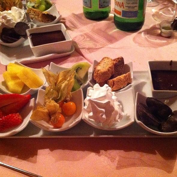Fondue Di Cioccolato @ Primo Novecento