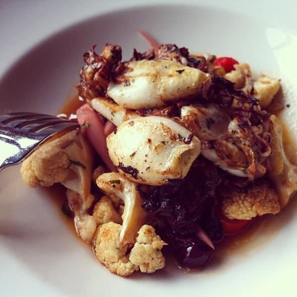 Grilled Calamari @ La Tavola Trattoria