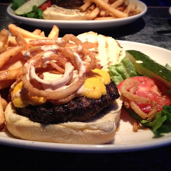 Cowboy Burger @ Barnaby's of America