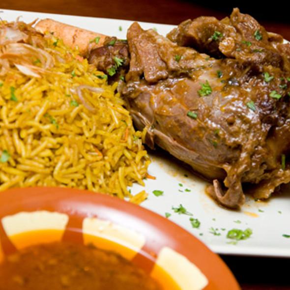 Lamb Biriyani @ Laziz Restaurant