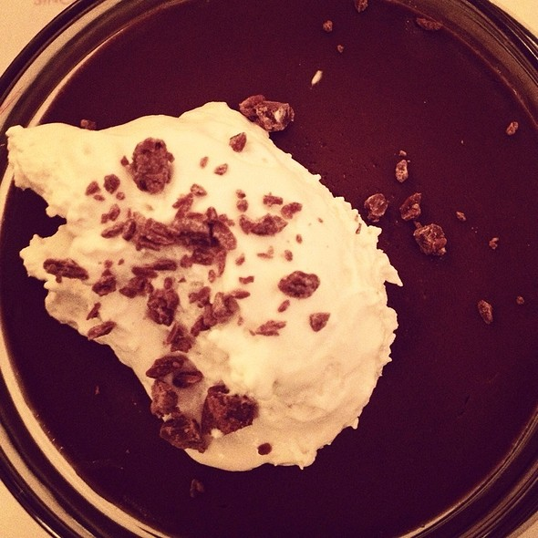 Chocolate pudding @ Raymond's