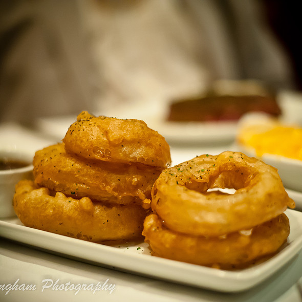 Tempura Onion Rings @ Ruth's Chris Steak House (Sacramento)