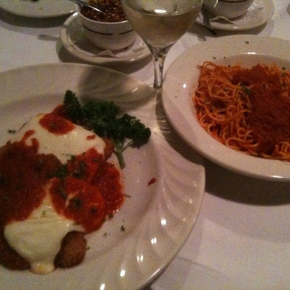 Veal Parmagiana - La Cena Restaurant, Bensalem, PA