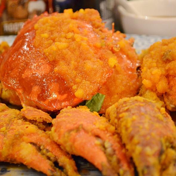 Garlic Crab @ Gloria Maris