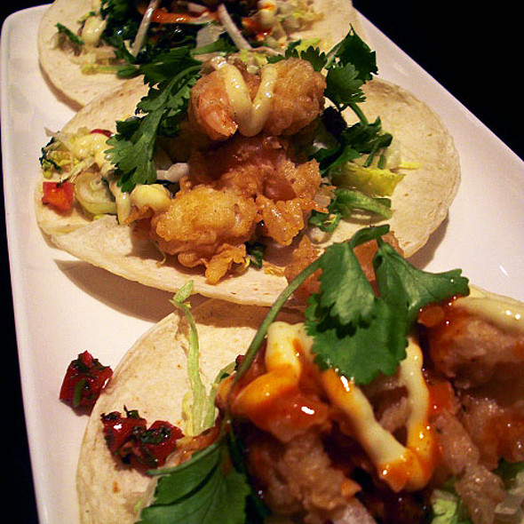 Shrimp Tacos @ Jack Astor's Bar & Grill