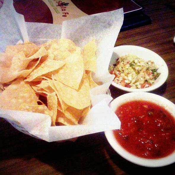 Chips and Salsa @ Old Santa Fe Mexican Grill