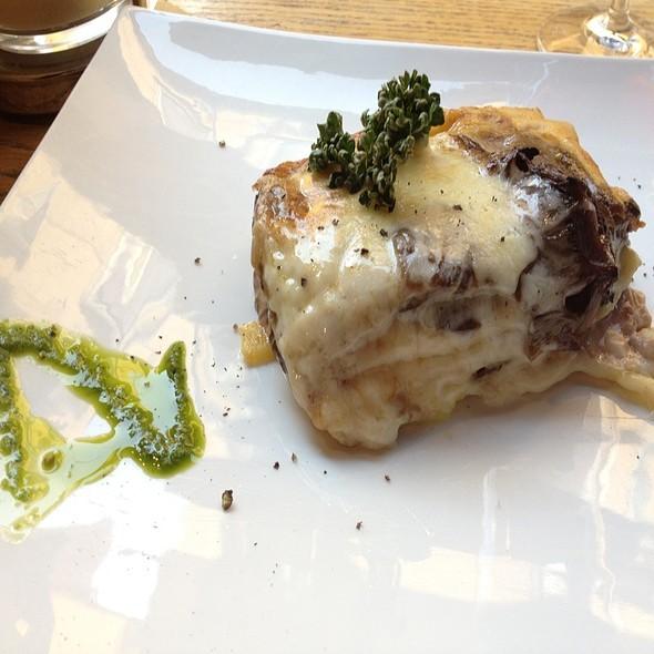 Lasagna Con Radicchio E Gorgonzola @ Ostaria del Bugiardo