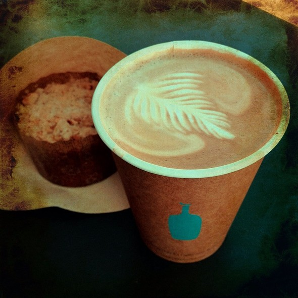 Cafe Latte @ Blue Bottle Coffee