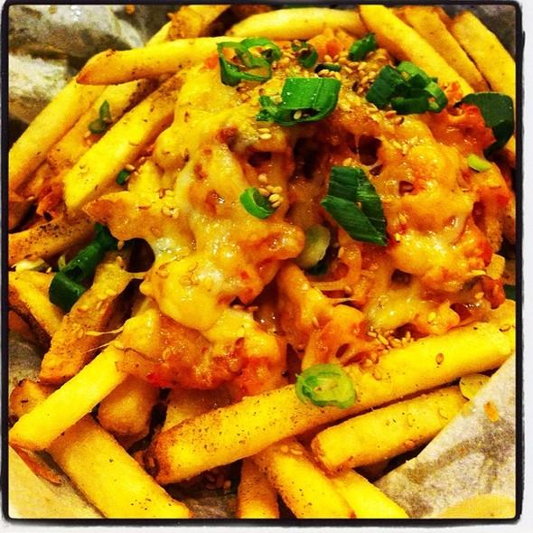 Kimchi French Fries @ Del Seoul