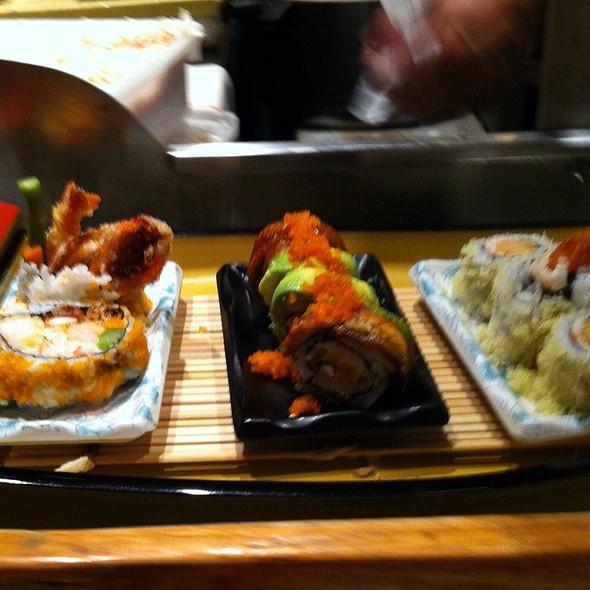 Eel Avocado Roll @ A'Float Sushi