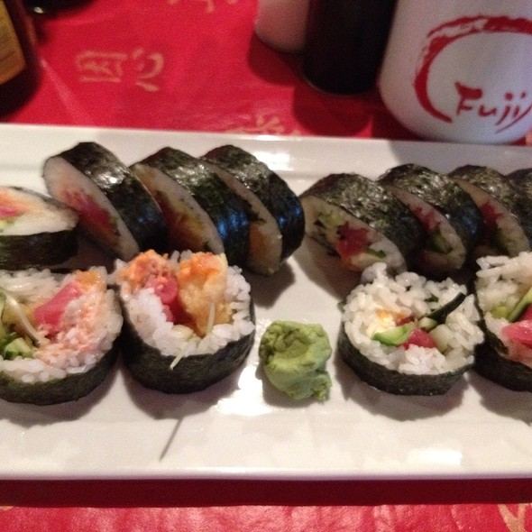 Jamie Roll And Irs Roll @ Fuji Japanese Cuisine and Sushi Bar