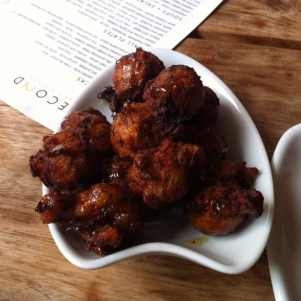 Blue Crab And Sweet Potato Fritters @ Second Bar + Kitchen