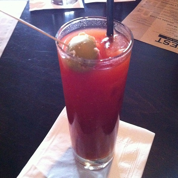 Bacon Bloody Mary - Harvest Seasonal Grill & Wine Bar – Glen Mills, Glen Mills, PA
