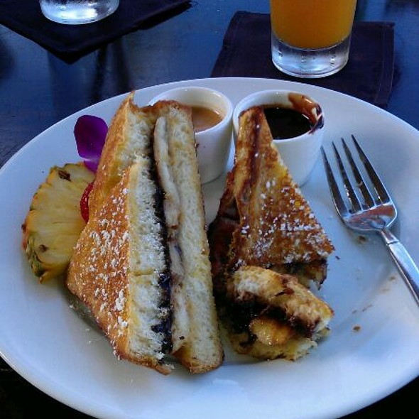 Chocolate Milk Dipped French Toast