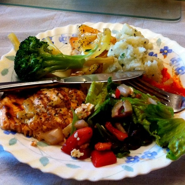 Salmon and Salads @ Home