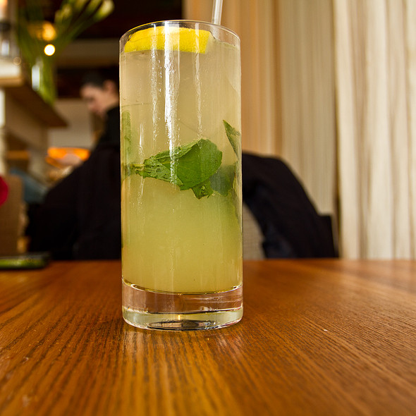 Basil Mint Lemonade @ Ella Dining Room & Bar