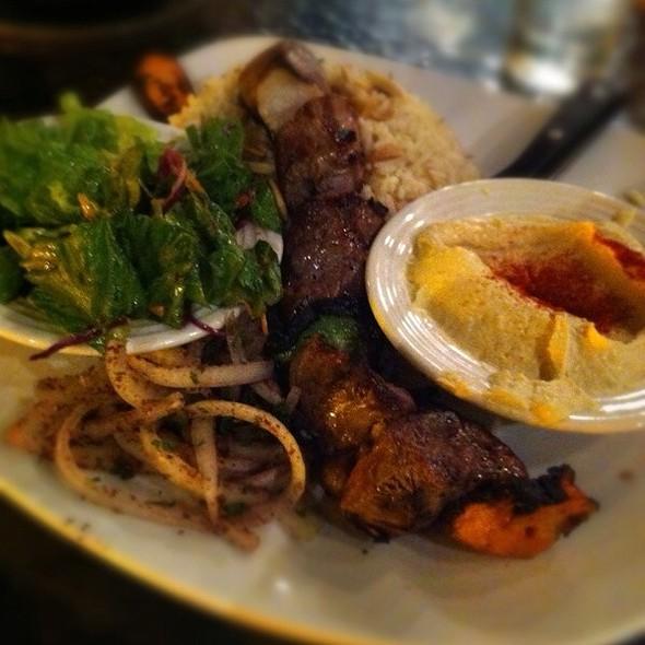 Lamb Kabob Lunch